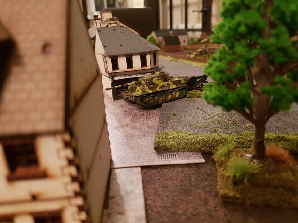 Toothless Tiger ...lucky Sherman hit its main gun mechanism