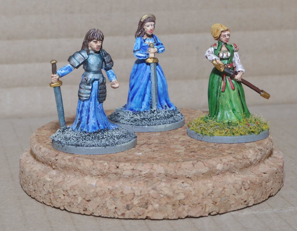 Renaissance Women with Swords from Carole