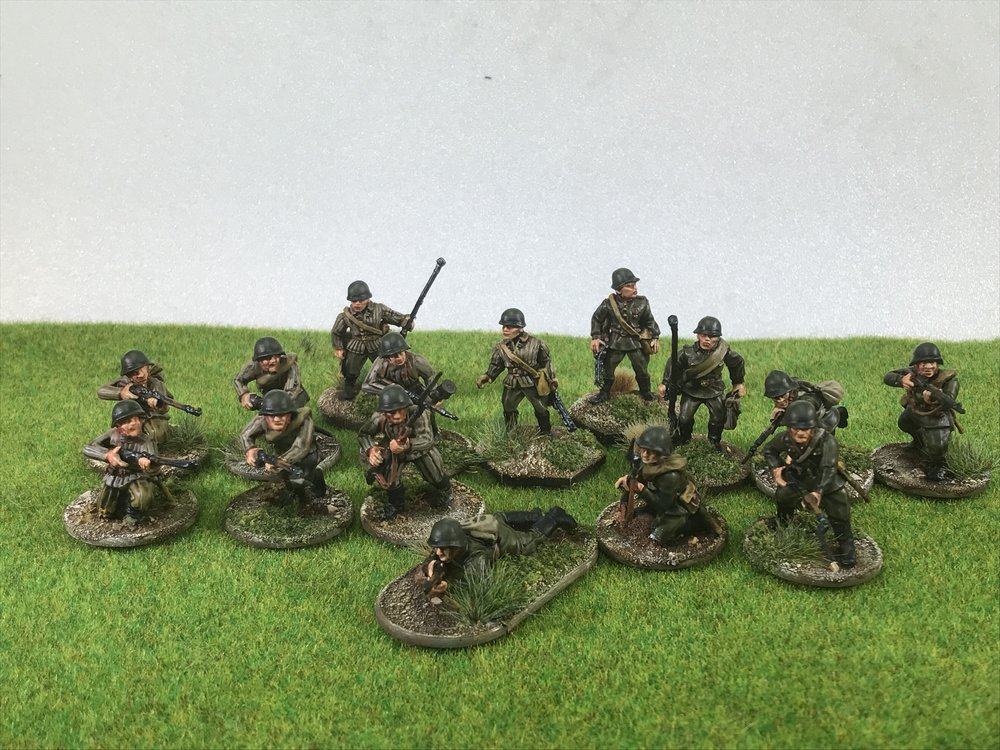 Some of Chris' WW2 Infantry