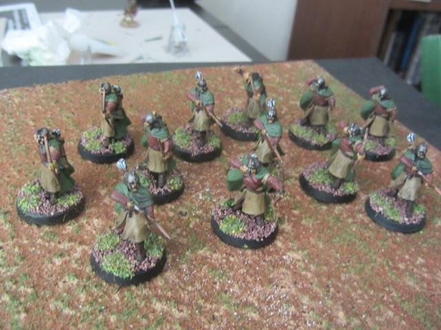 Bowmen of Rohan from Mervyn
