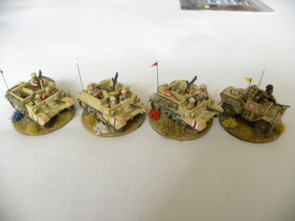 Vehicles for the Western Desert based by Stumpy