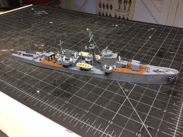 Just one of Lloyd Bowler's Japanese ships