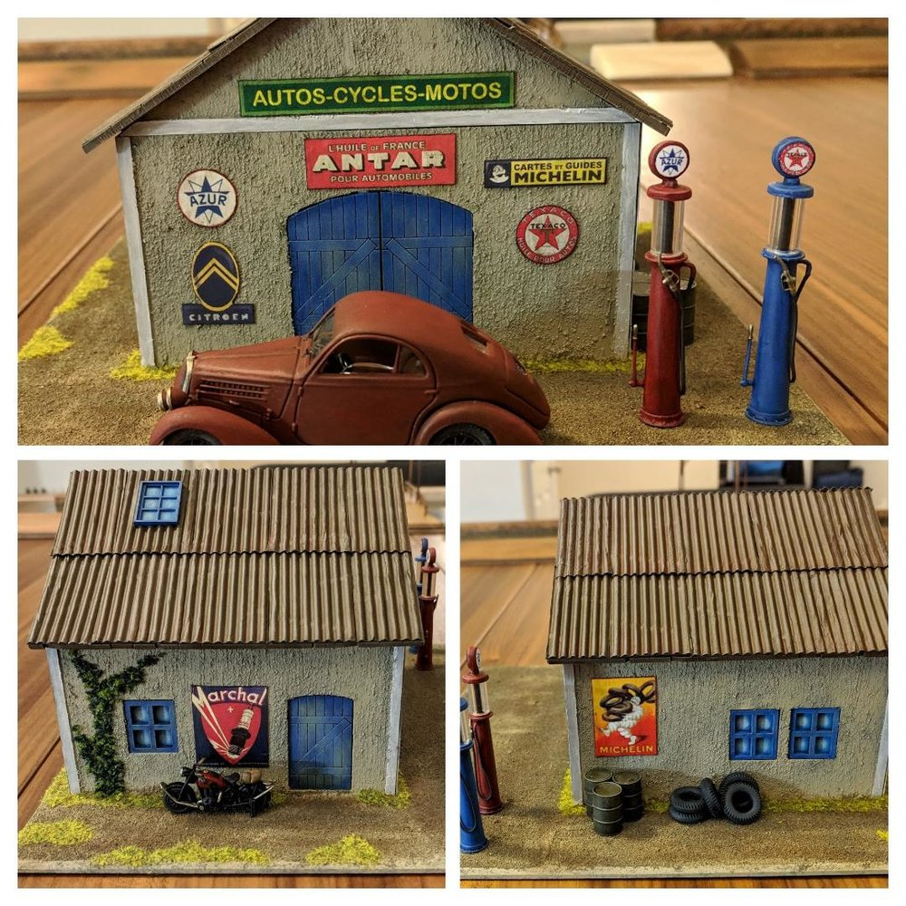 28mm Garage from John Emmett