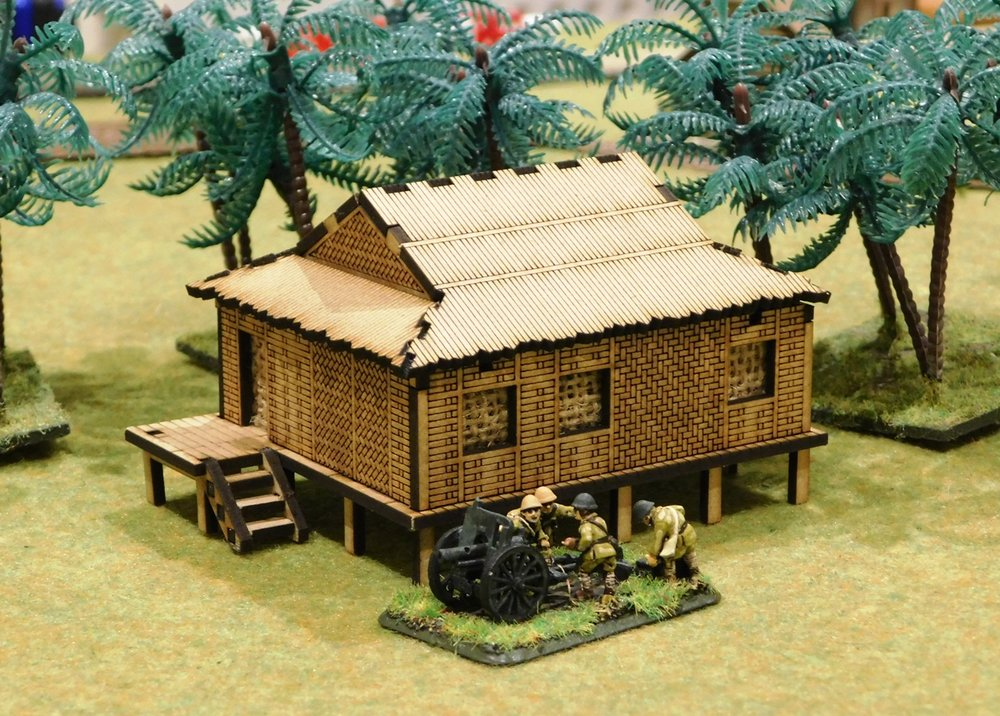 Stilted Bamboo House $9.50