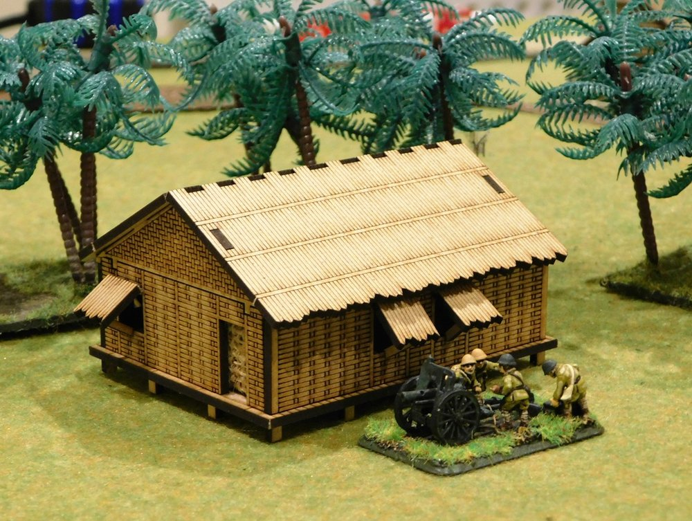 Large bamboo house $7.50