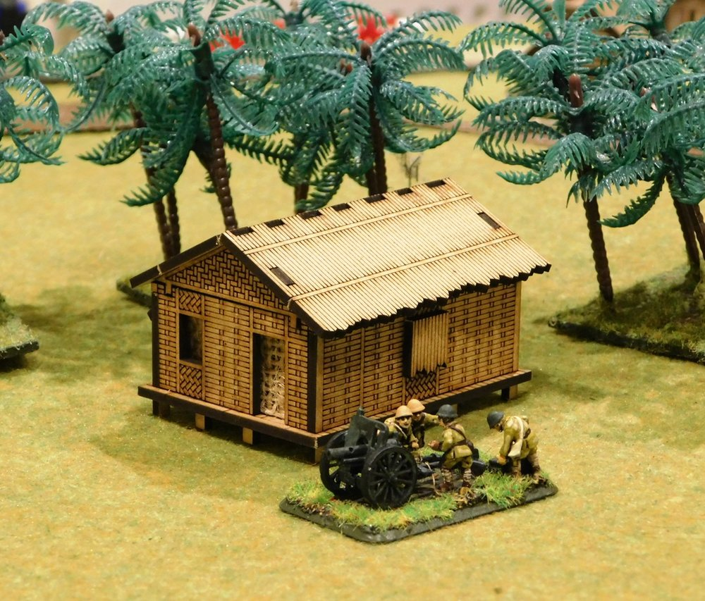 Small bamboo house $5.00