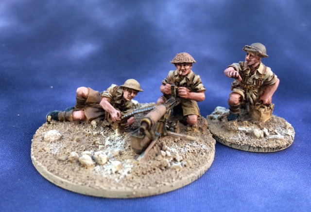 8th Army Vickers Team from Matt