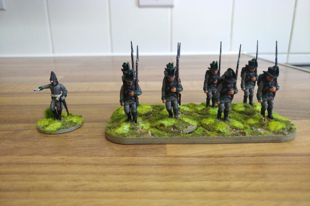 Napoleonics from Joe McGinn