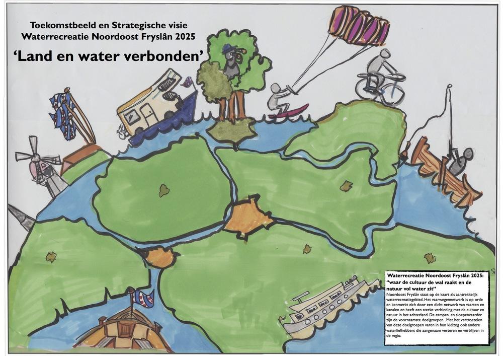 Visie Waterrecreatie Noordoost Fryslân is een sprekend voorbeeld van uitgaan van recreatieve waarden en doelgroepen