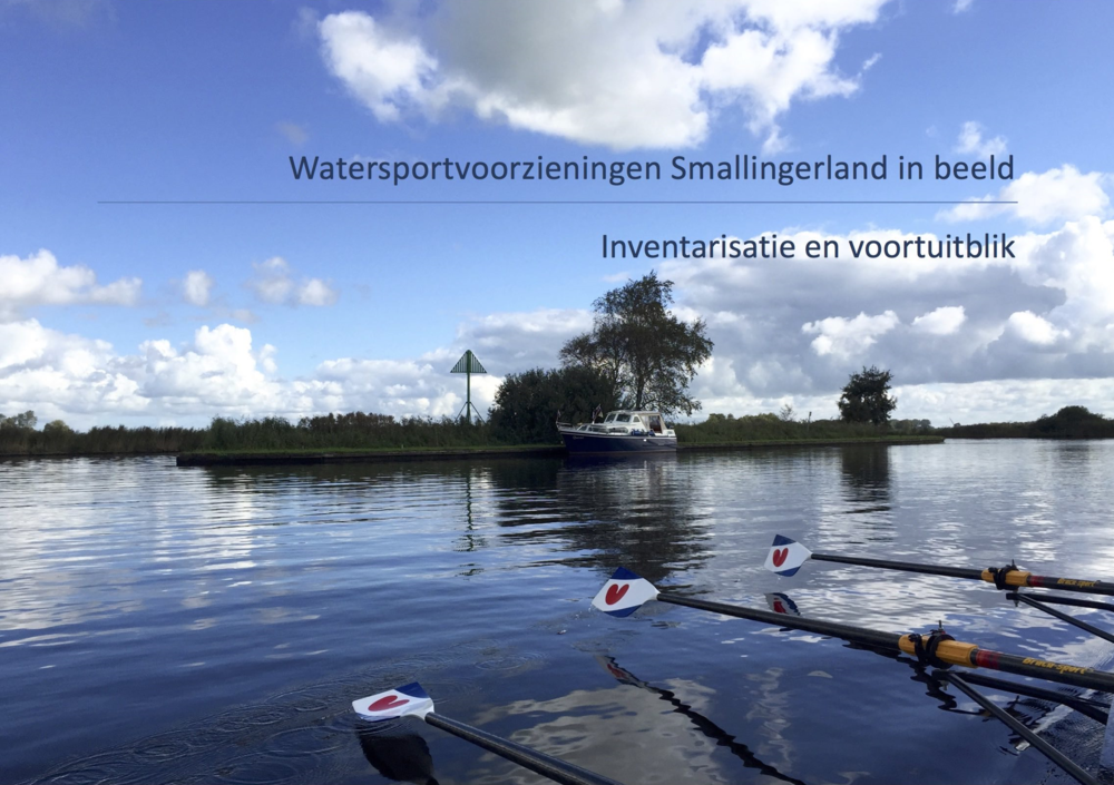 Watersportvoorzieningen Smallingerland in beeld