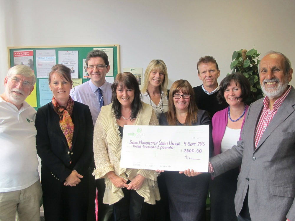 Credit Union awarded £3000 grant