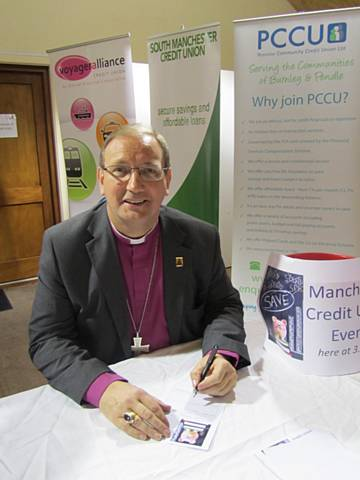Diocesan Bishops join credit unions