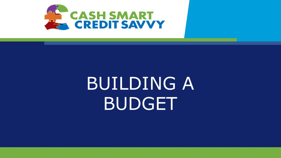 Step by step approach to making a budget work
