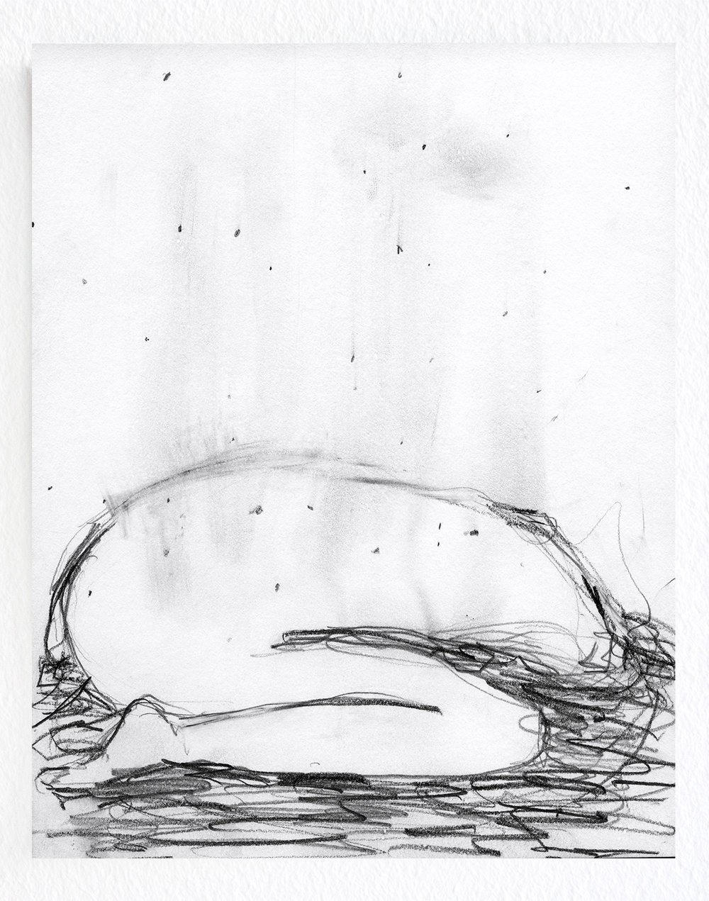 Untitled / 2013, pencil on paper, 15 x 22 cm