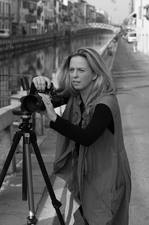 Robyn Lea shooting in Milan 02.JPG