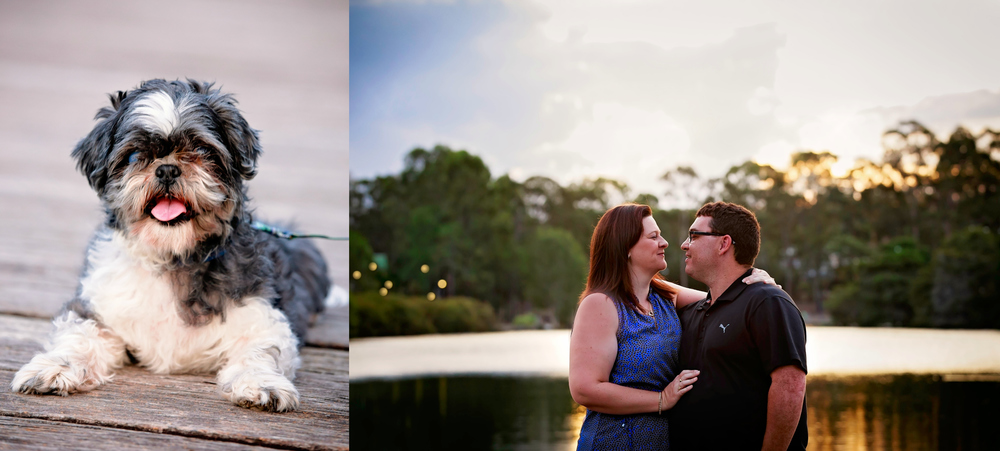 Brisbane engagement shoot - Raw design media