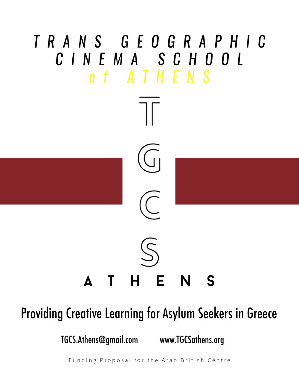 Trans Geographic Cinema School of Athens // Project Proposal // 2017
