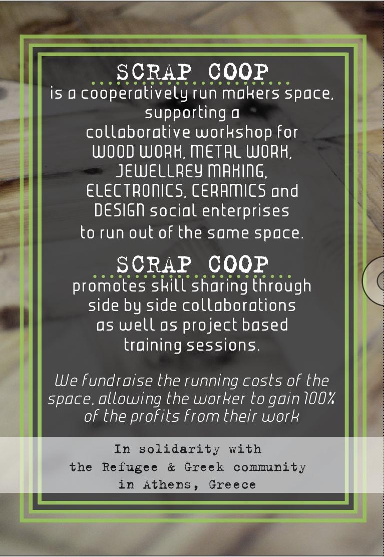 Scrap Coop // Info Flyer // 2018