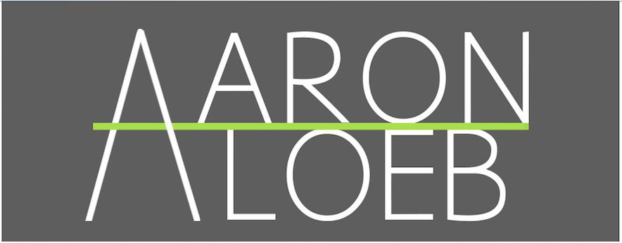 Aaron Loeb Playwright // Logo // 2018