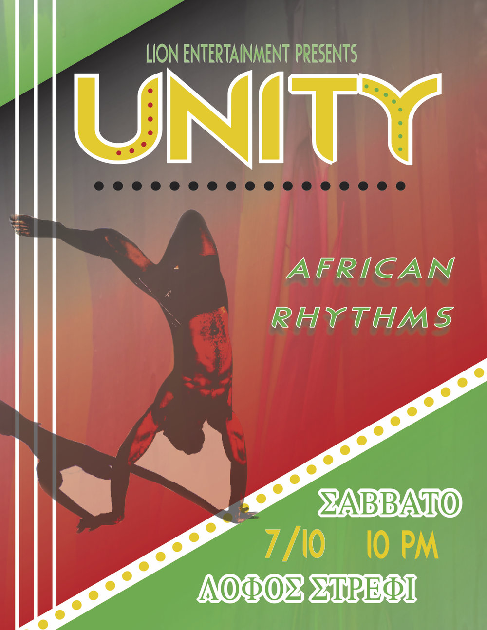 Lion Entertainment // Unity Rhythms Poster // 2017