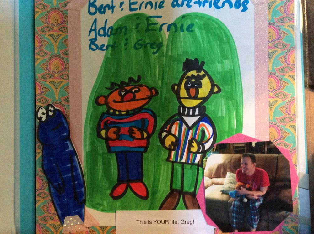 "Bert and Ernie are ""real"" to Greg!"