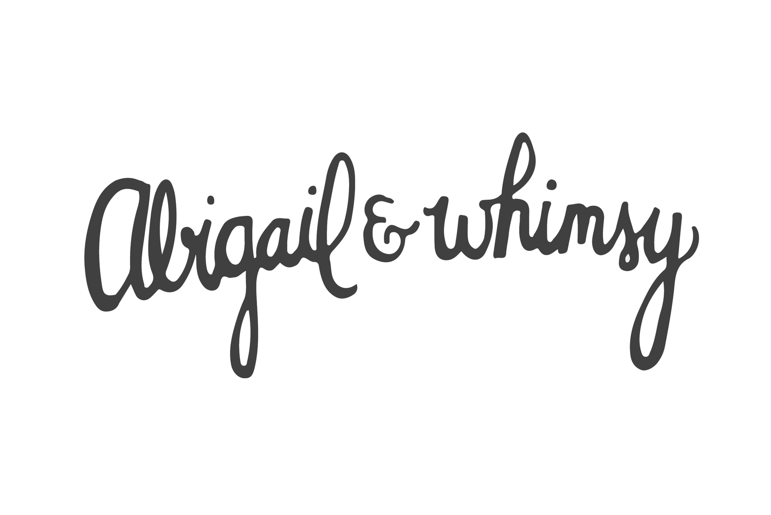 Abigail and Whimsy