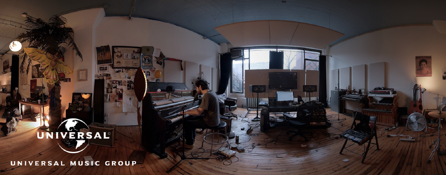 Directed by Felix Lajeunesse & Paul Raphael, Chris Lavis & Maciek Szczerbowski//Live action 3D 360° recording technology by Felix & Paul Studios//Sound by Jean-Pascal Beaudoin / Apollo Studios//Produced by Felix & Paul Studios / Watsonia Productions