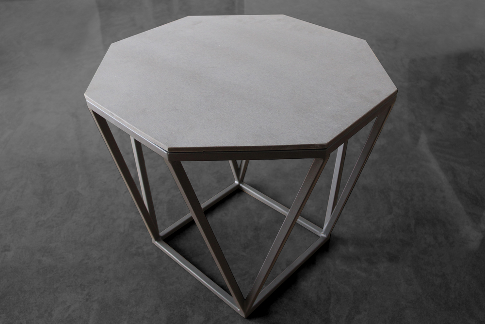 A Smaller Version Of The Octagon Coffee Table, The Octagon Side Table Has  The Same Customisable Properties Of Body Colour, Top And Size.
