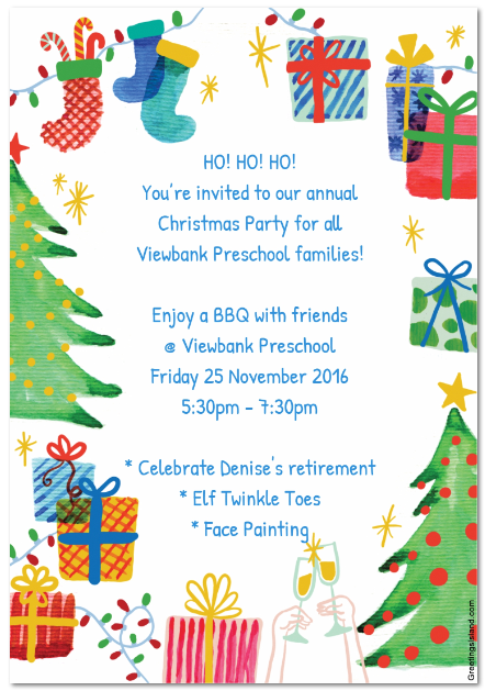 Christmas Party Friday 25 November At 5 30pm Save The Date