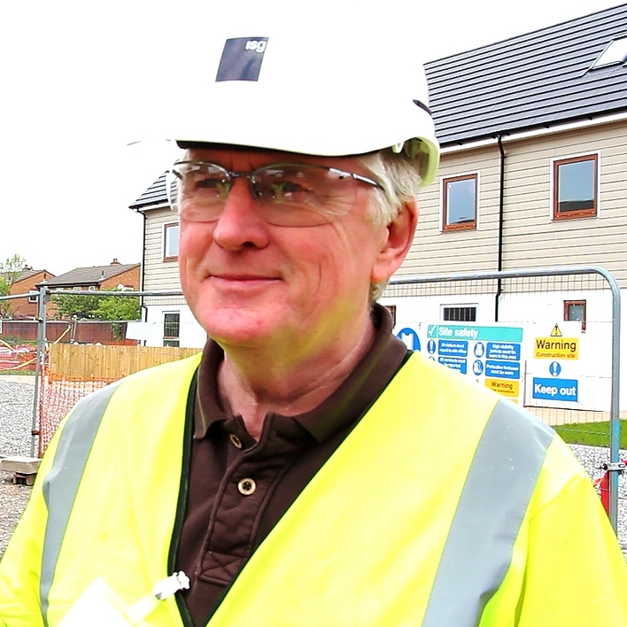 ISG Project Director, Frank Joyce at the HPBC site