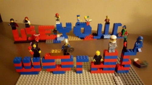 Use Your Words , Legos, Elliot Spoelstra
