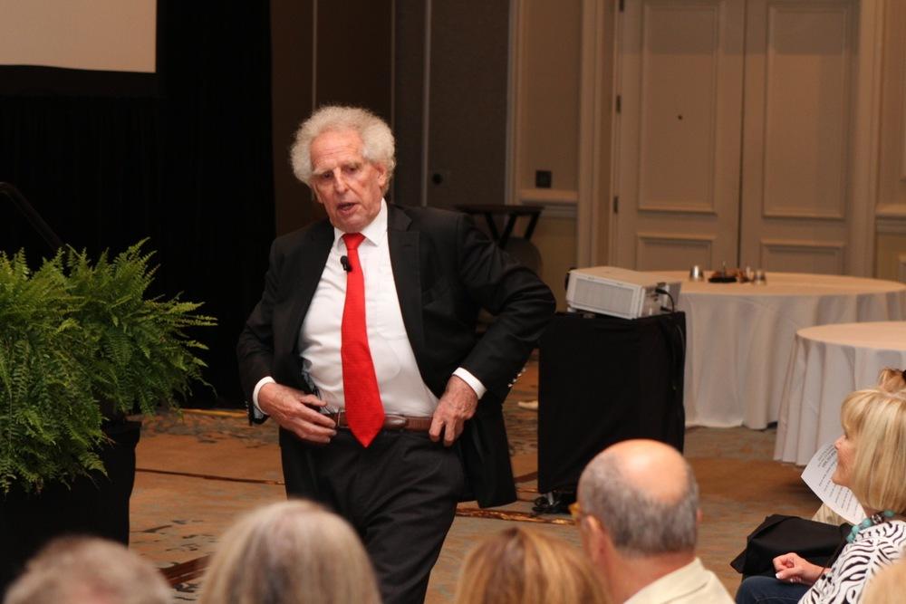 Benjamin Zander, conductor of The Boston Philharmonic Orchestra and the Boston Philharmonic Youth Orchestra, and the best-selling author of The Art of Possibility.