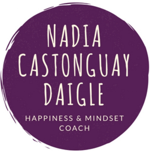Nadia Castonguay Daigle, Happiness & Mindset Coach for Busy Moms
