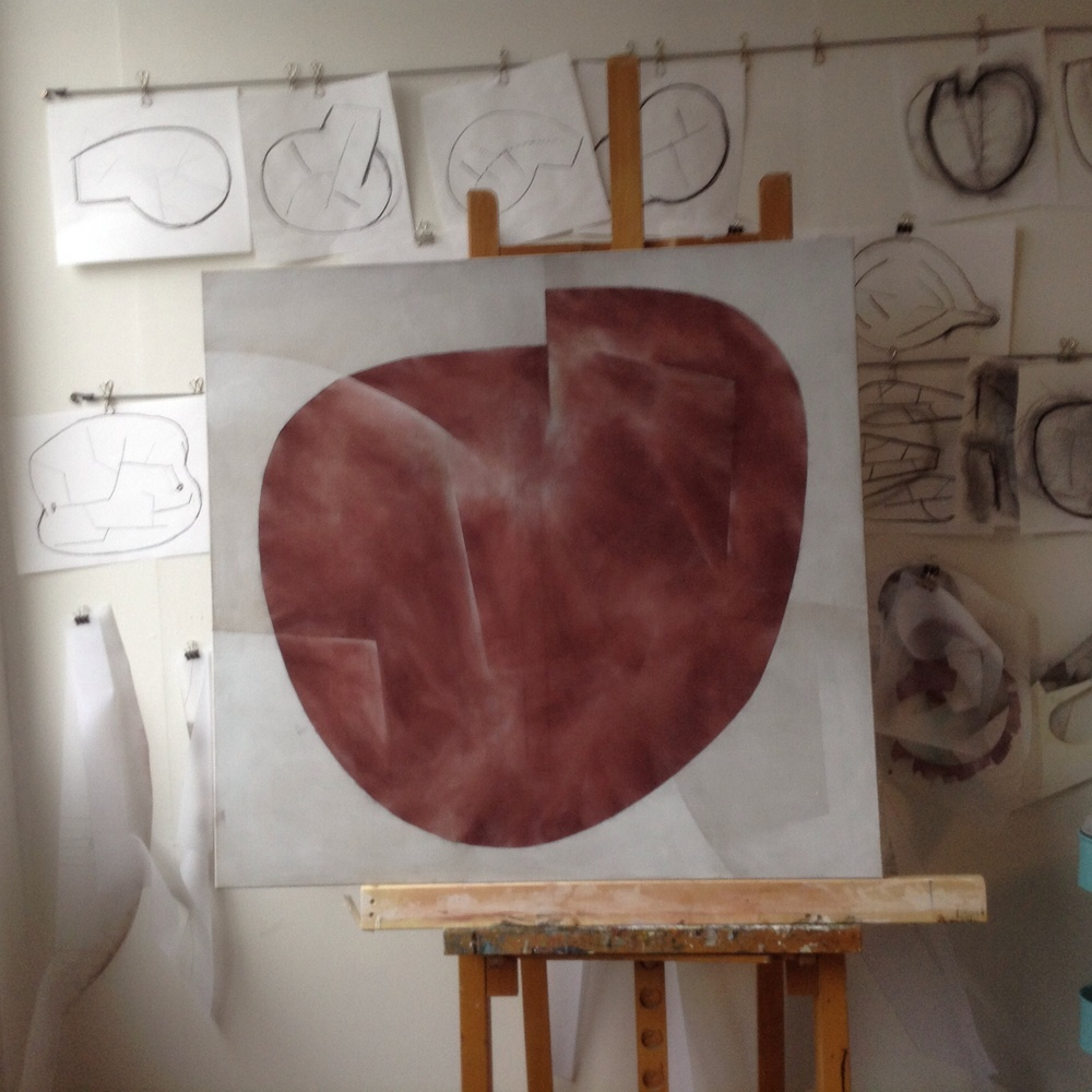 Fra mitt atelier akkurat nå.