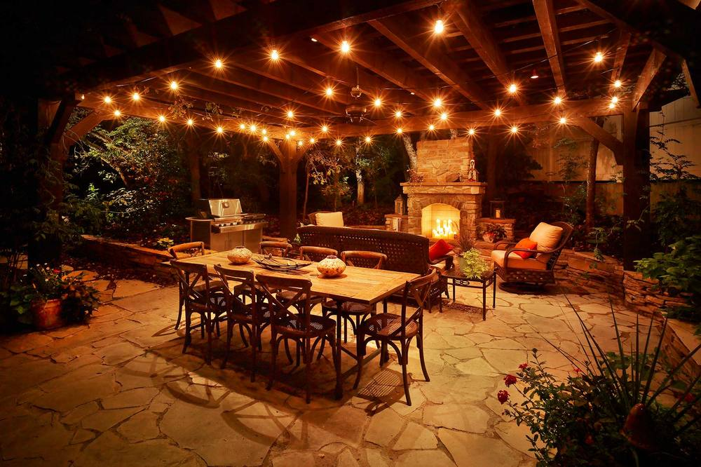 Create An Aura Of Mystery With Outdoor Living Spaces There Is Plenty Room