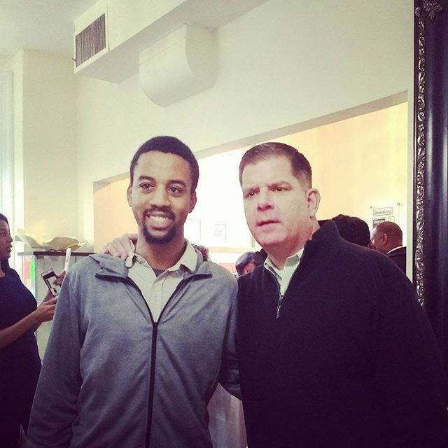 Meeting the current mayor of Boston: Marty Walsh