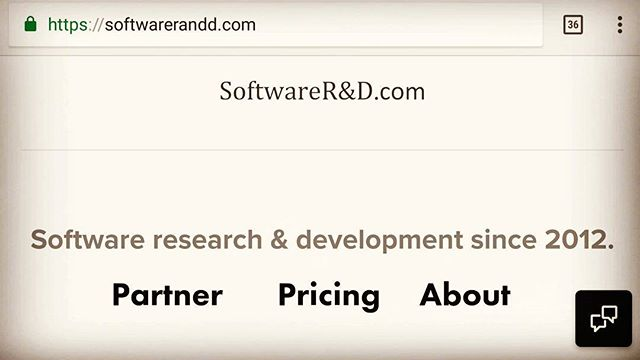 If you didn't know, within the past few months Joftware has began to also be known as SoftwareRandD.com in order to help embrace and communicate the notion that we create a wide variety of software as well as help others do the same!  Visiting Joftware.com or SoftwareRandD.com will both bring you to the site!