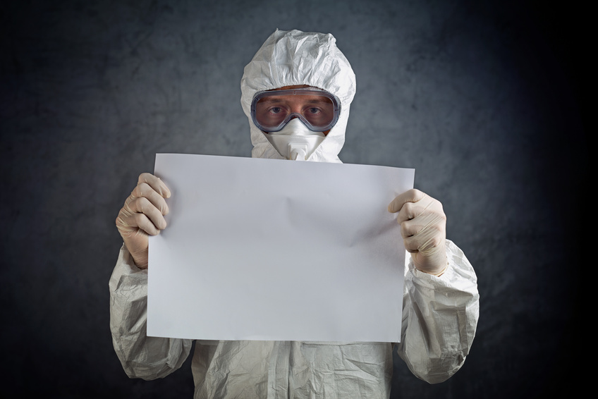 "Foto: ""Medical Health Worker in Protective Clothing"" 