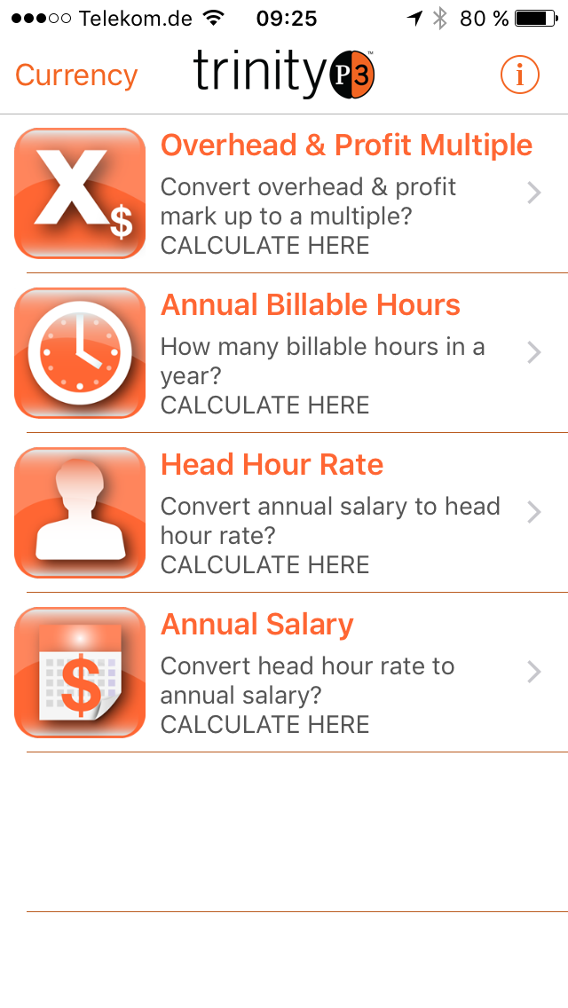 Ein Praxis-Tipp vom NB-Doc: Die kostenlose IOS-App Resource Rate Calculator von trinity P3 hilft dabei, viele der hier genannten Kennzahlen einfach auszurechnen.