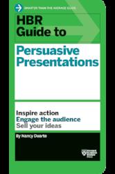 «Persuasive Presentations» von Nancy Duarte, Foto: www.hbr.org