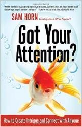«Got Your Attention» von Sam Horn, Abbildung: www.amazon.com