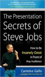 «The Presentation Secrets of Steve Jobs von Carmine Gallo, Abbildung: www.amazon.com