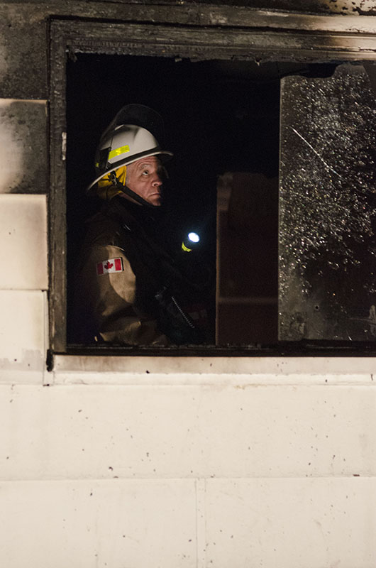 Hot Spot:  Sault Ste. Marie Fire Services attended a blaze Friday evening at 28 Wellington Street East. The call came in at 10:06 p.m.  The home sustained heavy damage, the two occupants of the home at the time the fire started were able to exit safely.