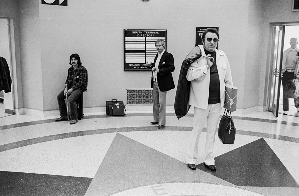San Francisco Airport, 1973