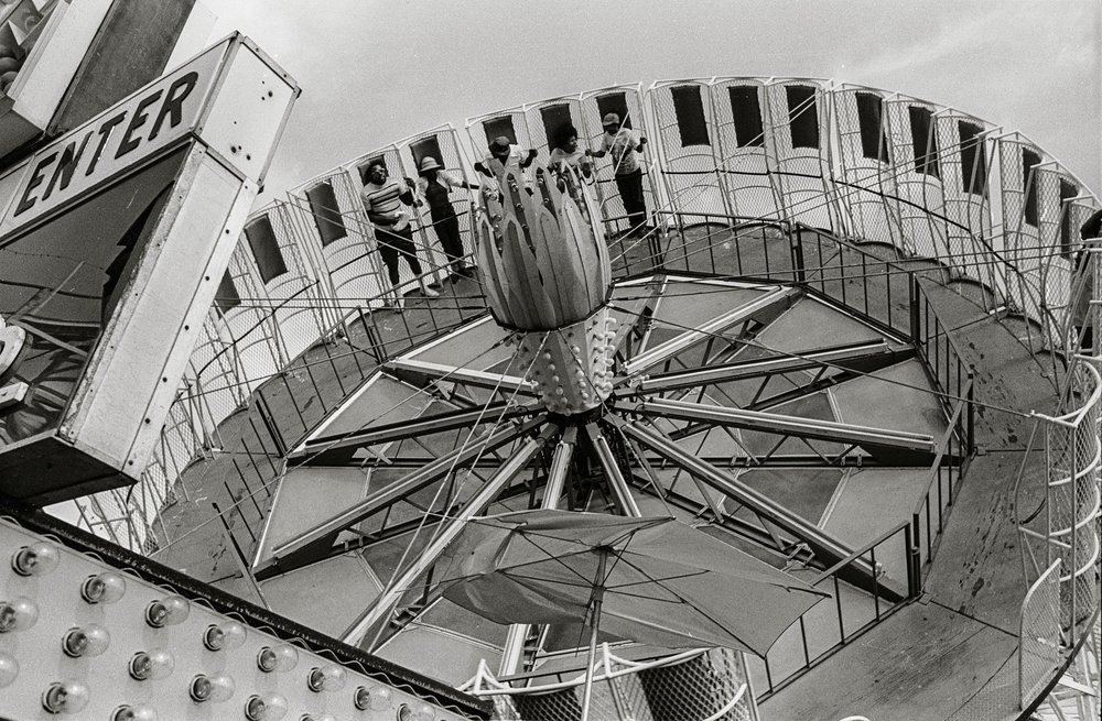 Amusement Ride, CT, 1973