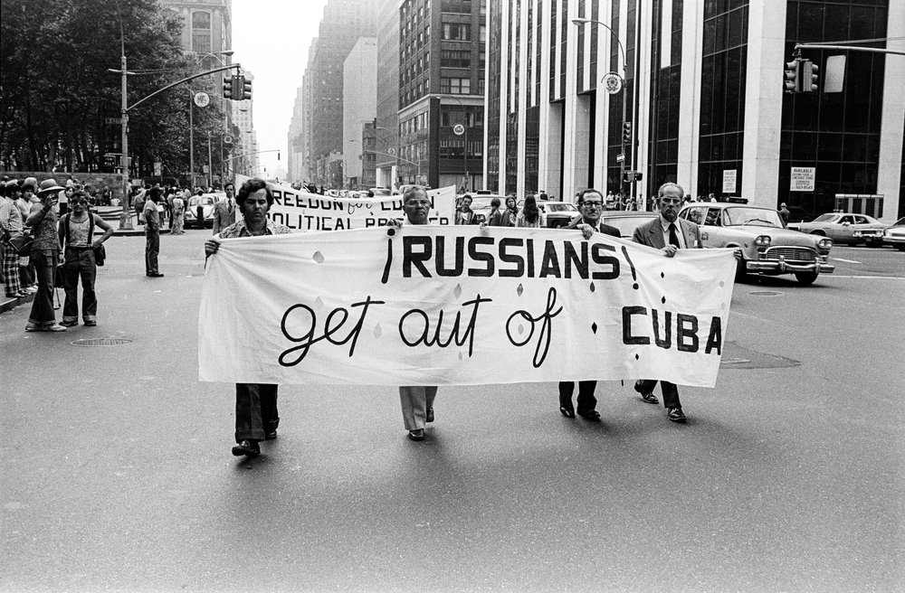 Cuba Demonstration, 1975