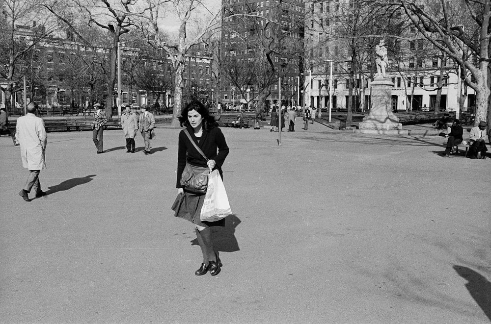 Washington Square Park, 1975