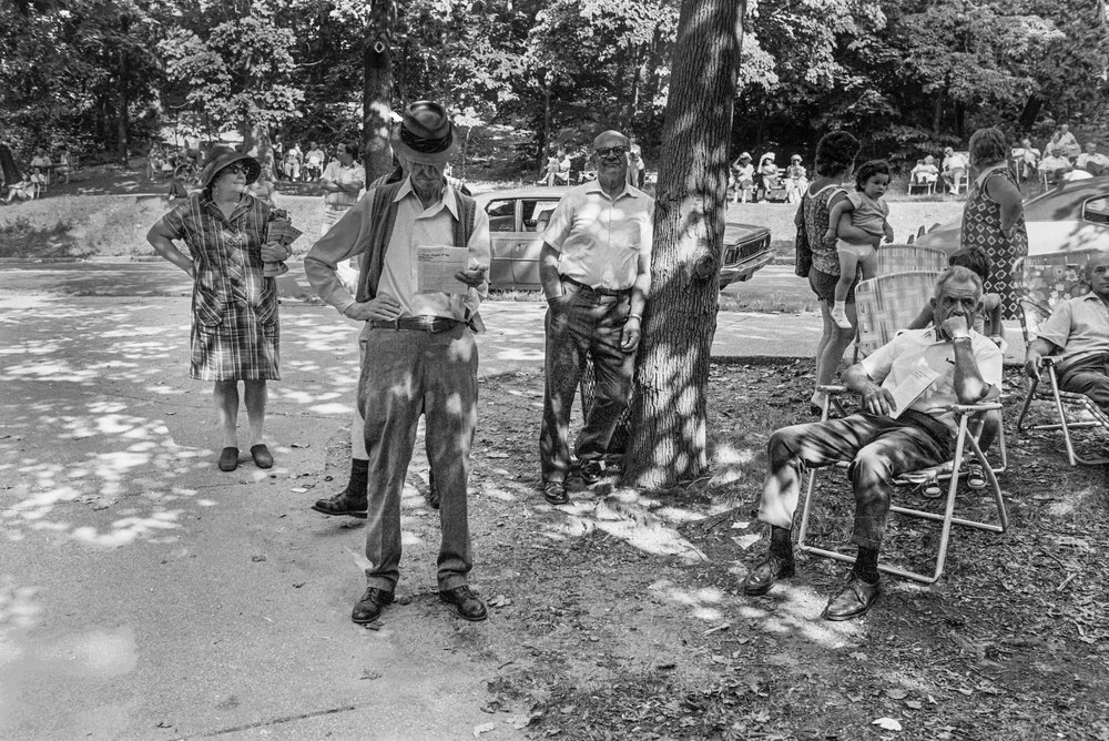 Waiting for Performance, Forest Park, Queens, NY, 1975