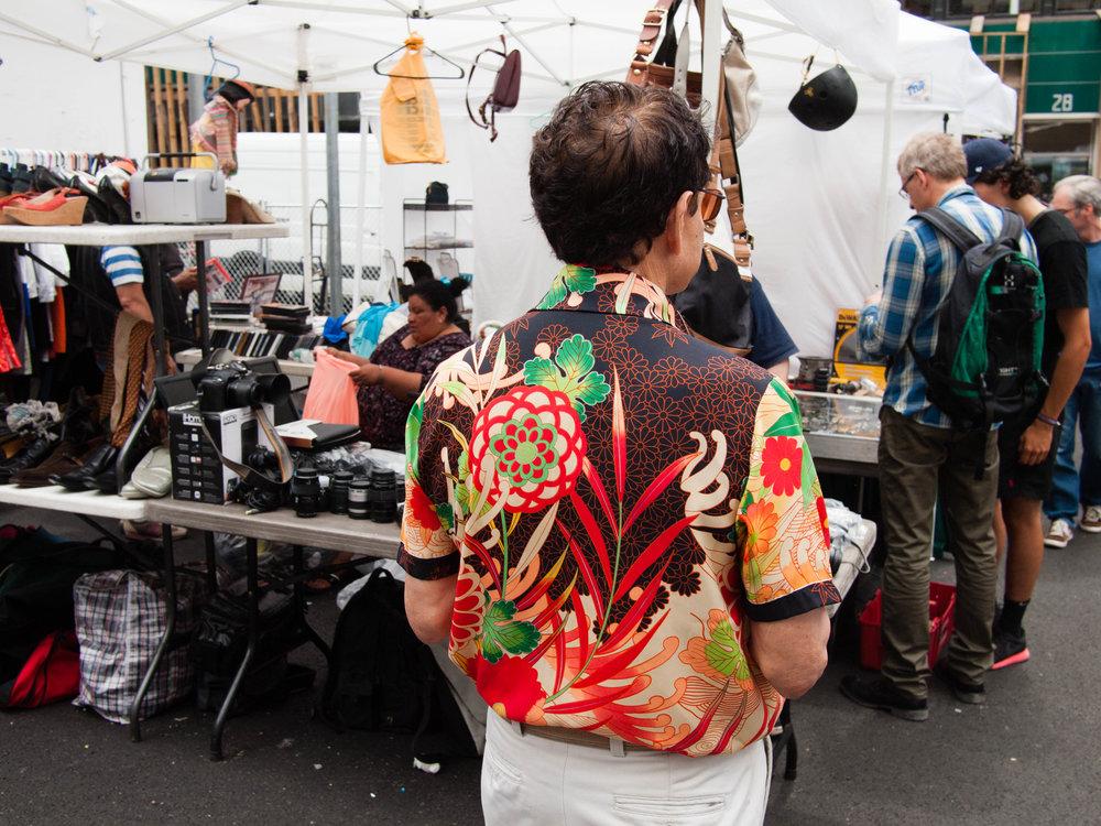 Flea Market, NYC, 2014