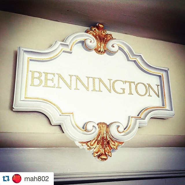 Bennington is all over the place. Double tap if you agree. #vtbeginshere